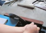 Panneau électrique vu MJ6130 Machines de coupe scie à panneaux en bois