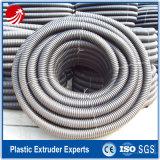 Ligne de production d'extrusion de tuyaux ondulés à un seul mur PE