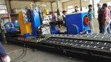 Niedrige Kosten-Stahlgefäß CNC-Plasma-Ausschnitt-Maschine für friedliches Gewebe