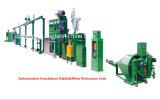 Elektrisches Drahtseil-Isolierungs-Material drei Schichten Strangpresßling-Maschinen-