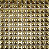 Les carreaux de céramique vaisselle en porcelaine Gold Silver vide matériel de galvanoplastie