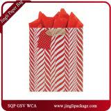 Sacs de papier de cadeau de sac de papier de sacs en papier faits sur commande d'achats empaquetant des sacs de cadeau