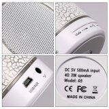 Mini altoparlante di Bluetooth di musica superiore più calda con il supporto della scheda di FM Radio/LED Light/TF