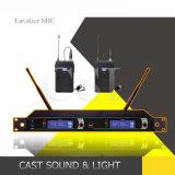 Microfone sem fio da freqüência ultraelevada do karaoke da série de Slx, microfone sem fio de Lavalier