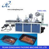 Contenitore di plastica di contenitore del piatto di controllo del servomotore che forma macchina (DHBGJ-480L)