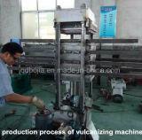 ゴムは加硫装置のゴム製煉瓦作成機械をタイルを張る