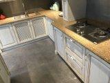 2018卸し売りモジュラー純木の食器棚は台所装飾のためにセットした