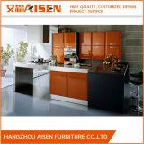 Cabina 2018 de cocina de madera de la laca colorida de Renovative del fabricante de China