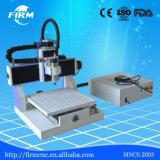 L'acrilico si imbarca sulla macchina mini da tavolino di pubblicità del router di CNC dell'alluminio 6090 del PVC del MDF