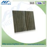 Les graines en bois de panneau de mur extérieur de la colle de fibre