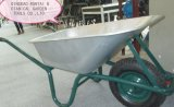 Wheelbarrow galvanizado forte da bandeja do Sell quente (WB6414T)