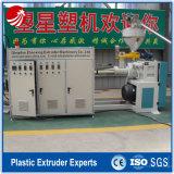 Trois dans une machine en plastique de recyclage des déchets