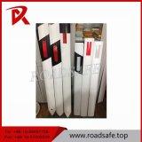 백색 바디, 백색 반사체 PVC 가로변 Delineator 포스트