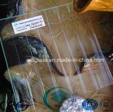 Duidelijke Nappelite Patterned Glass met Ce, ISO (38mm)