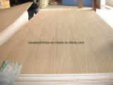 madera contrachapada natural de la teca de 3*7/4*8 6m m