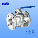ISO Flange Ball Valve com CF8 Material