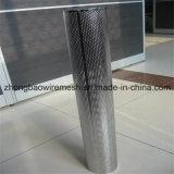Tubo filtrante perforato dell'acciaio inossidabile 304 di prezzi bassi