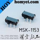 Тип тумблер DIP изготовления 6pin положения переключателя скольжения 2 (MSK-1153-1)