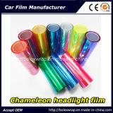 De Film van de Koplamp van het kameleon, de Lichte Sticker van de Auto van de Film van de Verandering van de Kleur van de Auto, Decoratieve Film