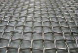 Pantalla de filtro tejida prensada metal de acoplamiento de alambre del acero inoxidable para tamizar y la filtración