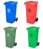 contenitore di rifiuti di plastica esterno 120liter