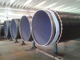 API 3PE die de Spiraalvormige Buis van het Staal voor Olie met een laag bedekken &Water vervoert