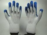 Перчатки безопасности механиков дешевого латекса Coated (LS014)