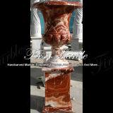 POT di fiore rosso di Eretria per la decorazione domestica MP-504