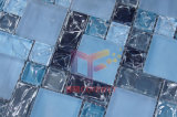 Mosaico di cristallo blu incrinato (CC186)