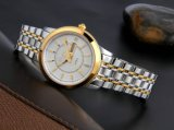 Reloj de acero inoxidable de la moda casual pareja relojes automáticos