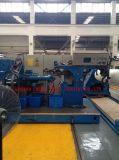 Ligne d'extrusion de rouleau en caoutchouc de nouvelle technologie / ligne d'extrusion de rouleau en caoutchouc