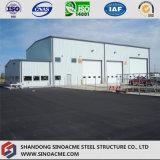 Sinoacmeからの産業研修会のための鉄骨構造の構築