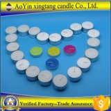 Venda por atacado 50PC em Polybag 16g White Tealight Candle with 6 Hours Burning Time