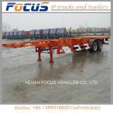 Behälter-Schlussteil 2axle, Transport-Fahrzeug-LKW-Traktor-Schlussteil