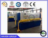 Macchina di taglio della ghigliottina idraulica di CNC QC11K-16X5000, tagliatrice del piatto d'acciaio di CNC Hydraulc