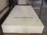 Madera contrachapada de la melamina del grado de los muebles (base de la madera dura/base de Combi/base común de Finjer)