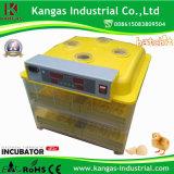 Le poulet automatique de hachure de 96 oeufs de qualité de certificat élevé de la CE Eggs l'incubateur