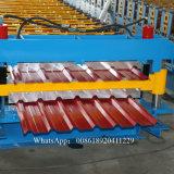 Telhado de aço de laminação da camada dobro que faz a máquina