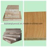 Haut/Middle/Conseil de bloc de qualité inférieure avec placage en bois naturel
