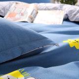 Venda a quente da cama impressas com pigmento de poliéster Personalizado Edredão Conjunto da Tampa