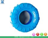 4  in Rubber Tire Dog Toy