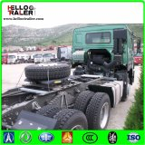 중국 HOWO 6X4 트랙터 트럭 338HP 무거운 디젤 엔진 트랙터 트럭
