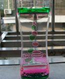 Clessidra liquida variopinta acrilica di movimento (MQ-ACH01)