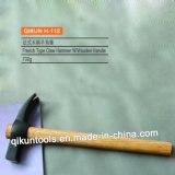 Тип молоток с раздвоенным хвостом H-111 Италии с деревянной ручкой