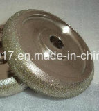半径の凸の凹面のダイヤモンドの粉砕車輪