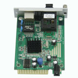 conversor single-mode dos meios da fibra 80KM de 10/100M único