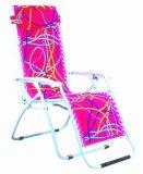 花の生地の折りたたみ椅子(BLF-2292)
