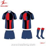 Uniforme in pieno sublimata di rugby della fabbrica degli abiti sportivi di Healong per Teamwear