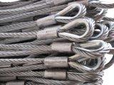 Гальванизированное изготовление слинга веревочки стального провода 6X37+ Iwrc