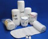Bandagem elástica com crepe de algodão não branqueado / Spandex Crepe Elastic Bandage